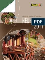 Catalogo Faller 2011