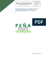 Protocolo PEÑATOURS