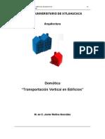 APUNTES TRANSPORTACIÓN VERTICAL CUI