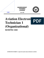 NAVEDTRA 14030 - Aviation Electronics Technician 1 (Organizational)
