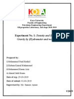 Exp. No.1 Density and specific gravity by Hydrometer and weight.docx