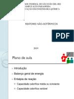 Aula 5 - Proj Reatores Nao-Isotérmicos - parte 1