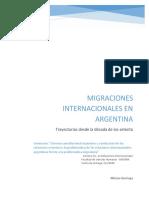 Migraciones internacionales en Argentina