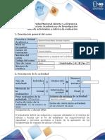 Guía de actividades y rúbrica de evaluación - Etapa 3 - Decisión