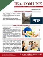 Notizie Dal Comune di Borgomanero del 13-11-2020
