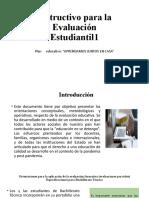 Instructivo para la Evaluación (1) (1)
