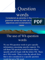 Wh Question words.ppt