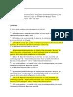 EVALUACION CURSO MEDIDAS DE PREVENCION EN CASA ANTE EL COVID-19