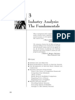 INDUSTRY ANALYSIS-PORTER'S 5 FORCES