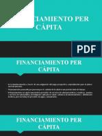 FINANCIAMIENTO PER CÁPITA