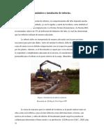 Suministro e instalación de tuberías