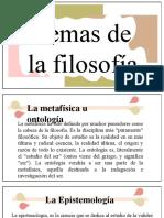 5.TEMAS DE LA FILOSOFIA