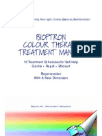 Bioptron Colour Therapy Treatment Manual