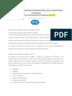 UNIDAD 2 ORGANIZACIÓN INTERNACIONAL DE LA PROFESIÓN CONTABLE 1
