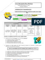 Ficha de trabalho_Conjunçoes