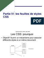 partie CSS