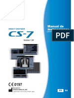 CS7 Operation Manual Ver 1.20 (Spanish) ID