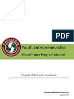 Youth Entrepreneurship Microfinance Program Manual