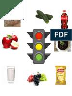 semaforo de los alimentos