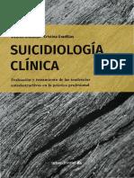 Suicidiología clínica evaluación y tratamiento de las tendencias