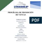 PROGRAMA DE PROMOCION DE VENTAS