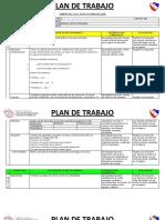 2. Plan de Trabajo 12 de Octubre 16