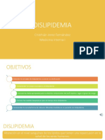 UPV Medicina Interna Clase - Dislipidemia