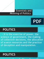 LESSON 1 PHILIPPINE POLITICS AND GOVERNANCE