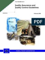 FTA_QualityAssurance_QualityControl_Guidelines