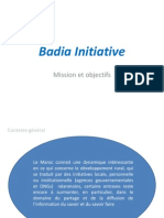 Presentation Badia Initiative