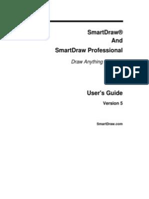 SmartDraw Manual | Menu (Computing) | Button (Computing)