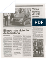 El Mes Mas Violento de La Historia v 2-1