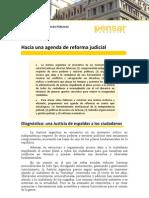 Hacia Una Agenda de Reforma Judicial