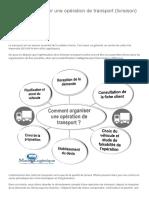 Comment organiser une opération de transport (livraison) _ – Marco Logistique