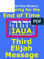 Third Elijah Message