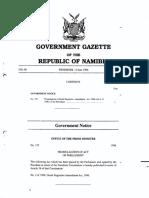 Amendment od Deeds Registries Act 1996