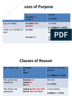 Clauses of contrast,reason, purpose_PPT