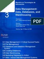 CHAPTER 3 DATA MANAGEMENT