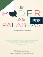 El poder de las Palabras - Nancy DeMoss.pdf