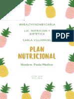 GUIA NUTRICIONAL RECETARIO SALUDABLE