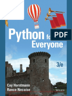 Free Download From Python for Everyone, 3rd Edition