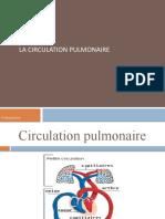[3] Chapitre III _ La circulation pulmonaire