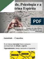 Ansiedade Psicologia e Doutrina Espírita - 09-02-2020