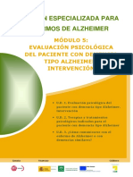 Modulo 5. Evaluacion psicologica del paciente con demencia. Tipo alzheimer. Intervencion..pdf