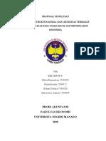 Kelompok 8 - Tugas Seminar Akuntansi