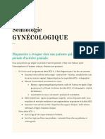 Q.E.s Sémiologie Gynécologique