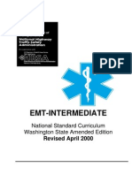 Washington State Intermediate Life Support Manual, Guidelines and Curriculum