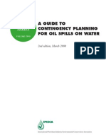 A guide to Contingency Planning for oil spills on water