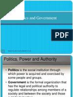 politics and government