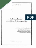 Sade em Lacan uma ética da transgressão
